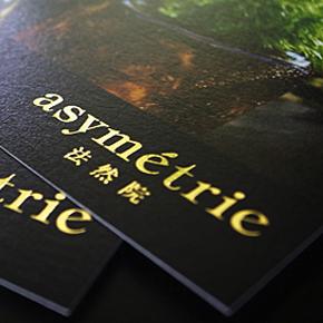 asymétrie DM